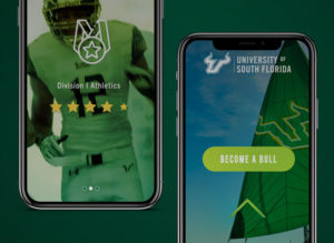 Clips from a custom social media video production to promote USF as a Top University