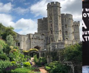 Shot of Windsor Castle in the United Kingdom