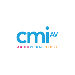 Color logo for CMI AV services, one of our video production partners