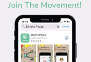 Plates Download Screen On Apple Iphone Join The Movement Screenshot