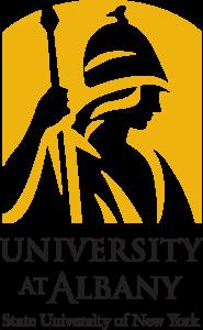 The University at Albany academic logo Minvera