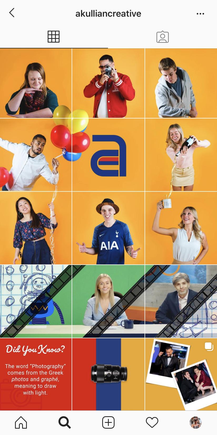 Akullian Creative Instagram screenshot