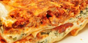 Lasagna, our Graphic Designer & Animator Anne loves lasagna!
