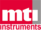 MTI Instruments stacked logo, part of their rebrand and brand guide build