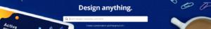 banner for best design platforms