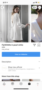 shopping on instagram for eCommerce sellers