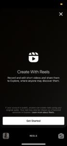 Using Reels to create unique instagram content